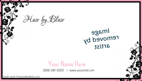 Hair Design Business Card