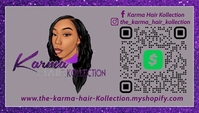 HAIR KOLLECTION CARDS 名片 template