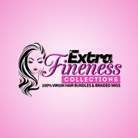 Hair logo template