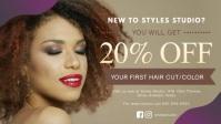 Hair Salon Discount Offer Banner