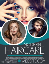 Hair Salon Flyer. Customizable Design Templates ...