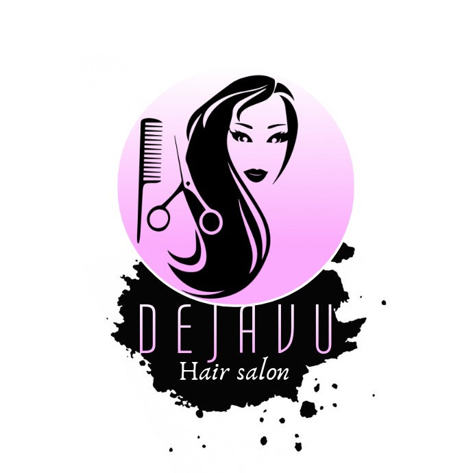 Hair Salon Logo Dejavu Beauty Salon Logo Fash Template Postermywall