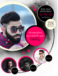 450 Hair Cuts Customizable Design Templates Postermywall