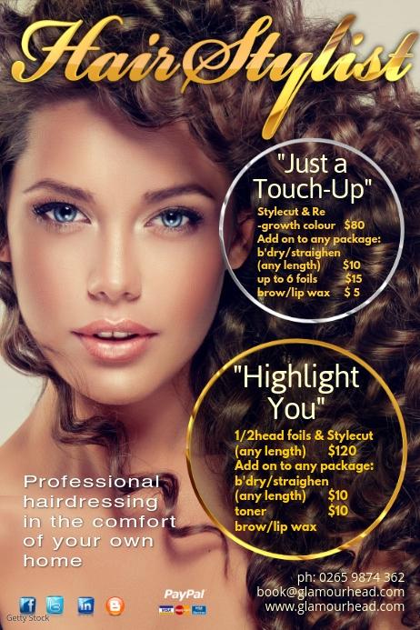 Hair Salon Poster