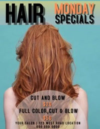 HAIR SALON SPECIALS
