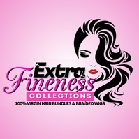 Hair shop logo template