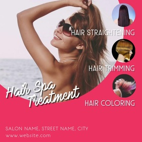 Hair spa Square (1:1) template