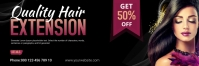 Hair Style Email Header E-poskop template