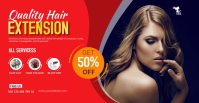 Hair Style Facebook Group Cover Photo template