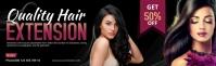 Hair Style LinkedIn Career Cover Photo template