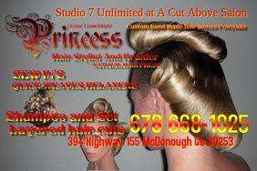 Hair Stylist Flyer Template