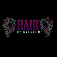 Hair stylist logo template