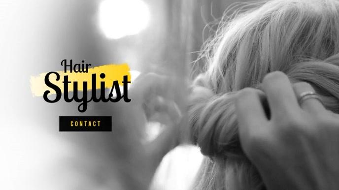 Hair stylist Video Ad