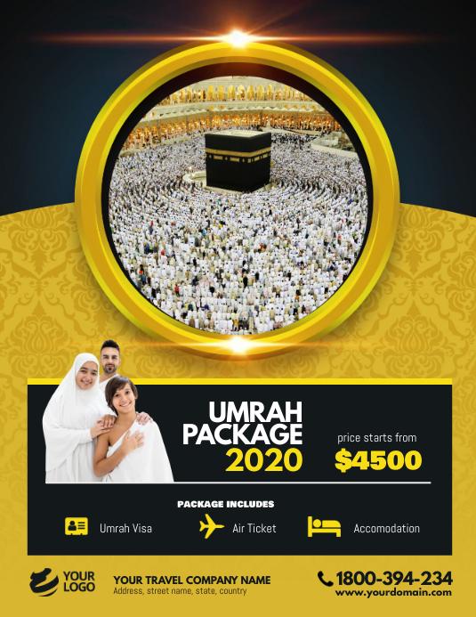 Hajj Umrah Package Flyer Poster