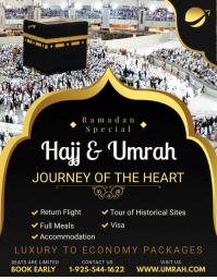 Hajj/Umrah Special Offer Flyer Template