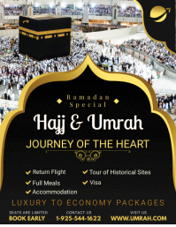 Hajj/Umrah Special Offer Flyer Template