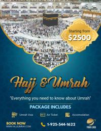 Hajj/Umrah Travel Agency Flyer Design