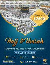 Hajj/Umrah Travel Agency Flyer Design