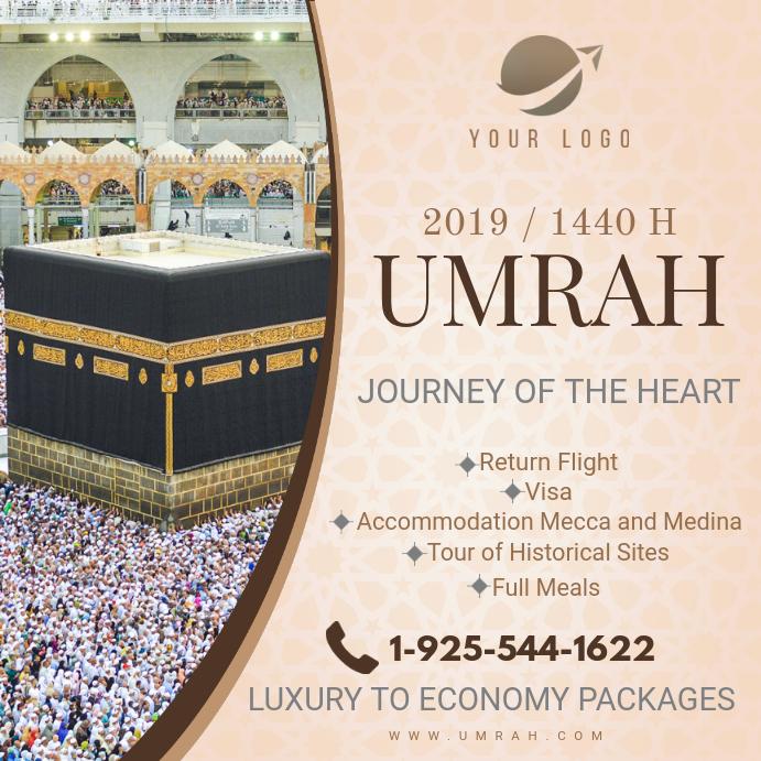 Hajj/Umrah Travel Package Online Advert