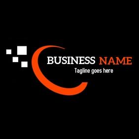 Half circle business logo