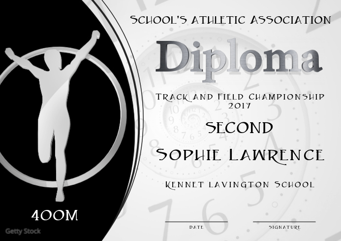 half marathon diploma