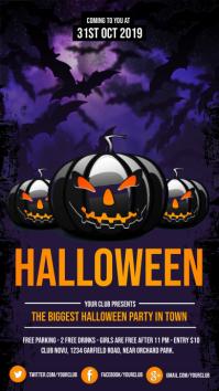 halloween, halloween flyer, happy halloween