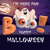 Halloween, Halloween party,Halloween sale Instagram Plasing template