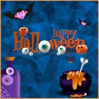 Halloween, Happy Halloween Instagram Post template