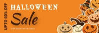 Halloween,Halloween sale,Halloween party Spanduk 2' × 6' template