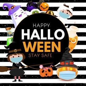 Halloween ,Happy Halloween Square (1:1) template