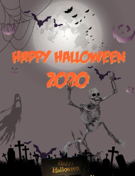 Halloween 2020 Templates halloween 2020 Template | PosterMyWall