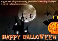 Halloween 7 A4 template