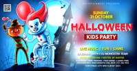 Halloween Ad Facebook-annonce template