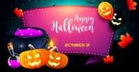 Halloween Ad Isithombe Esabiwe ku-Facebook template