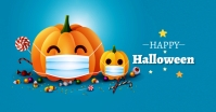 Halloween Ad Facebook Shared Image template