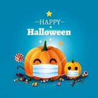 Halloween Ad Instagram Post template
