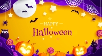 Halloween Ad Twitter Post template