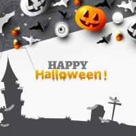 Halloween Ad Message Instagram template