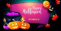 Halloween Ad Facebook-advertentie template