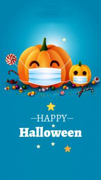 Halloween Ad Instagram Story template