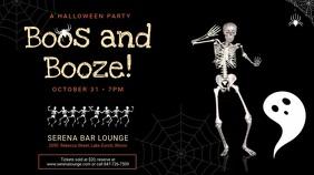 Halloween Bar Event Digital Display Ad Template