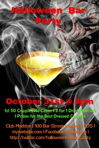 Halloween bar party