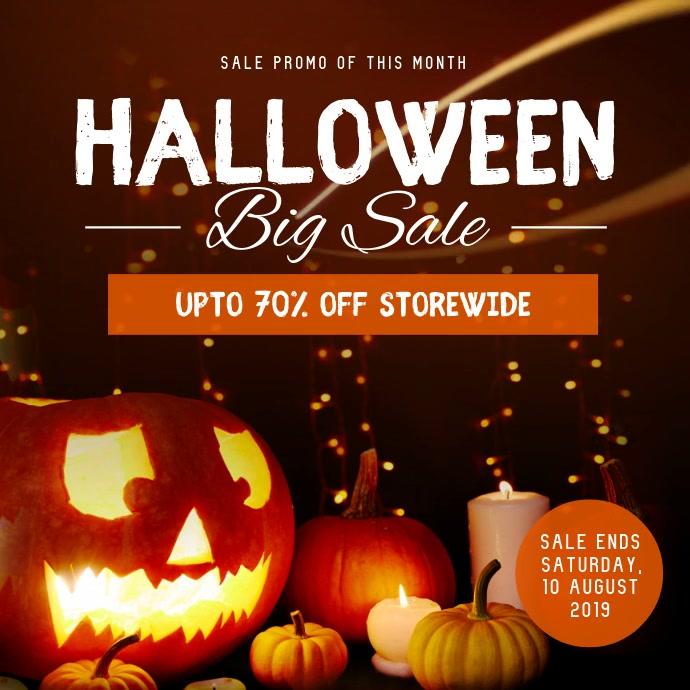 Halloween Big Sale Instagram Video