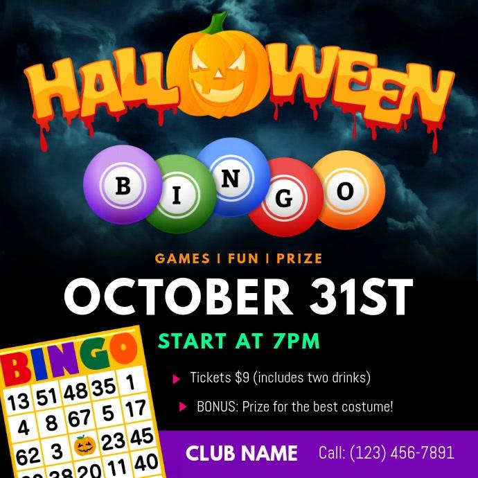 Halloween Bingo Square Video