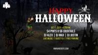 Halloween Blog header template