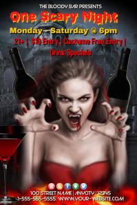 Halloween Bloody Bar Template