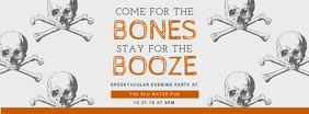Halloween Booze Facebook Cover Photo