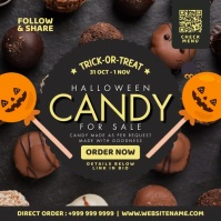 Halloween Candy Sale Post Template