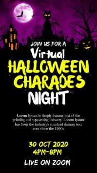 Halloween charades night