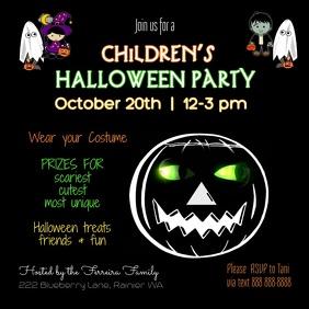 Halloween Children's Party Video